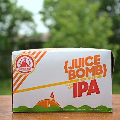 Sloop Brewing Juice Bomb IPA (6pk Cans)