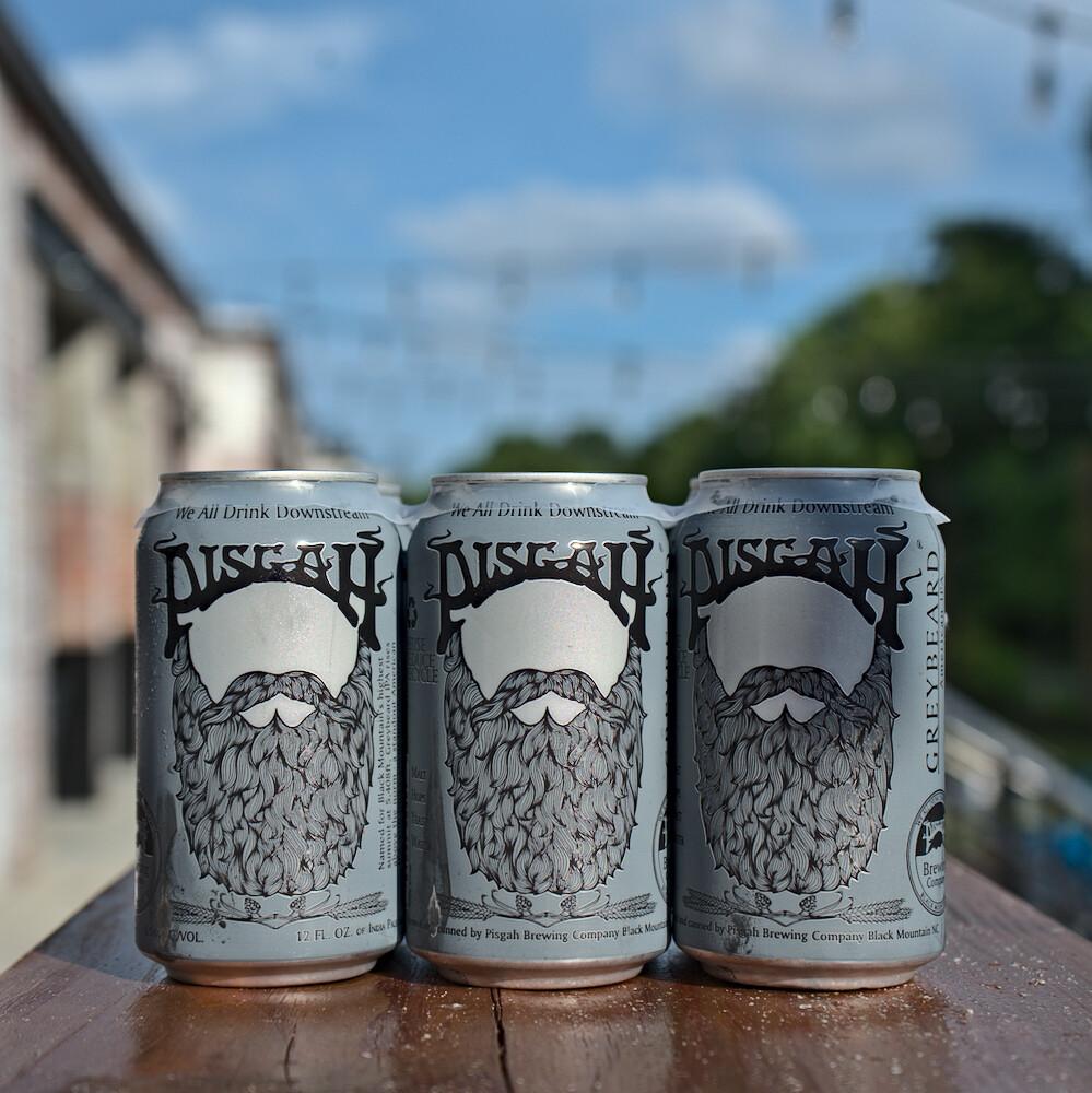 Pisgah Grey Beard IPA Cans (6pk)