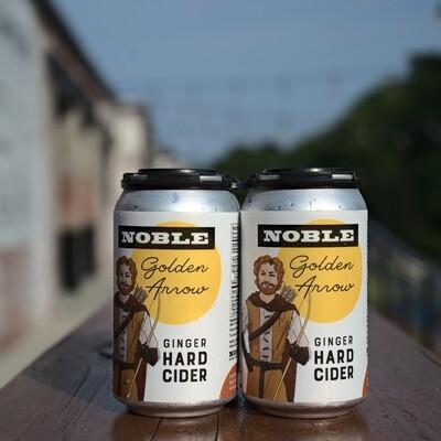 Noble Golden Arrow Ginger Cider (4pk)