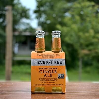 Fever Tree Spiced Orange Ginger Ale (4pk)