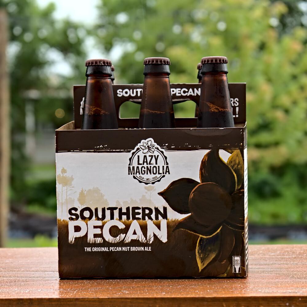 Lazy Magnolia Southern Pecan Brown Ale (6pk)