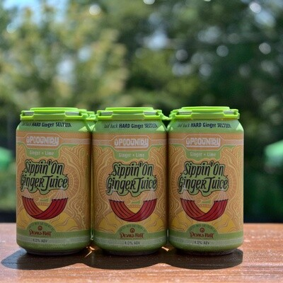 UpCountry Sippin On Ginger Juice (6pk)