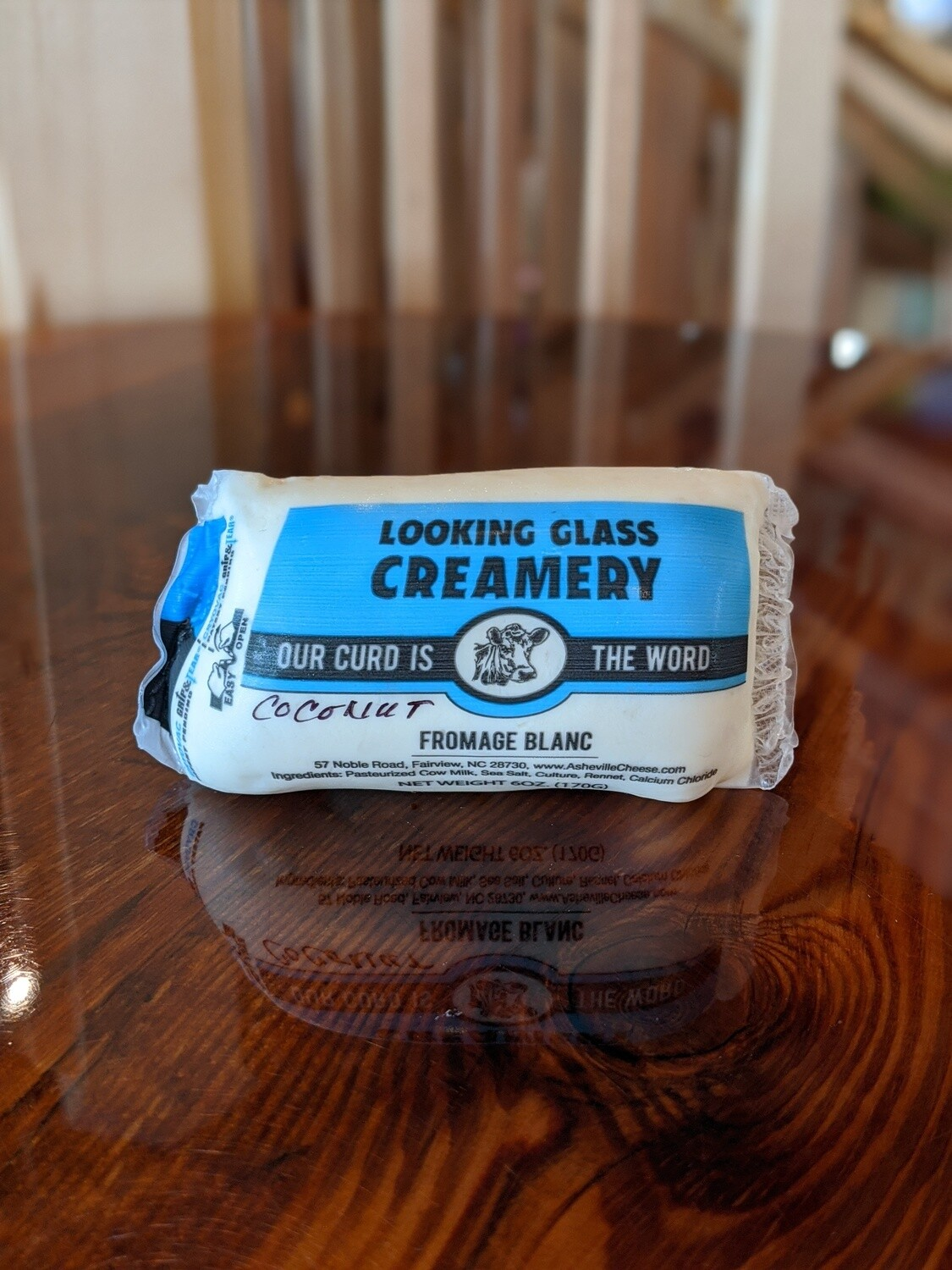 Looking Glass Creamery Toasted Coconut Fromage Blanc (6oz)