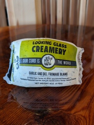 Looking Glass Creamery Garlic-Dill Fromage Blanc (6oz)
