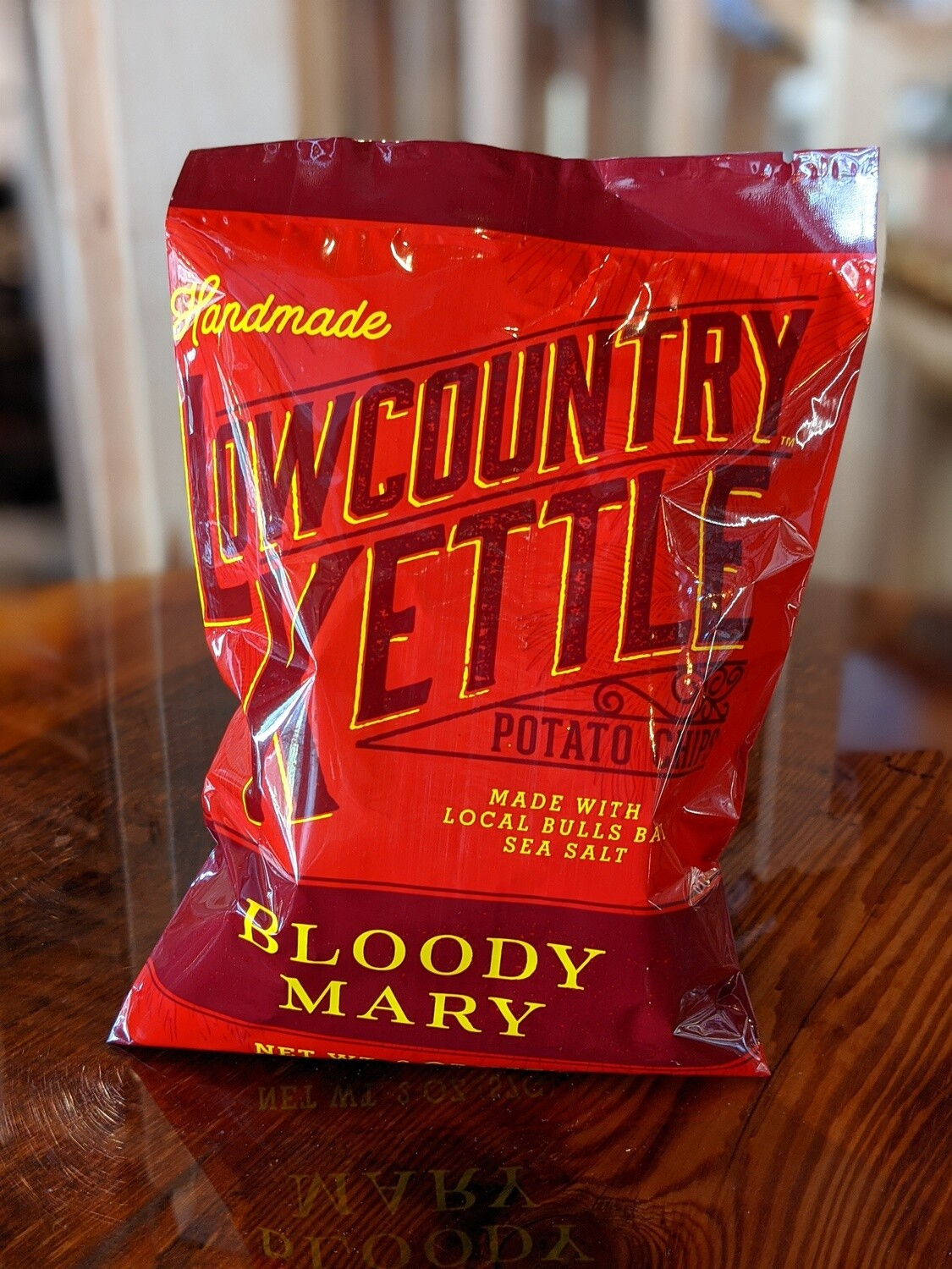 Lowcountry Kettle Bloody Mary Chips