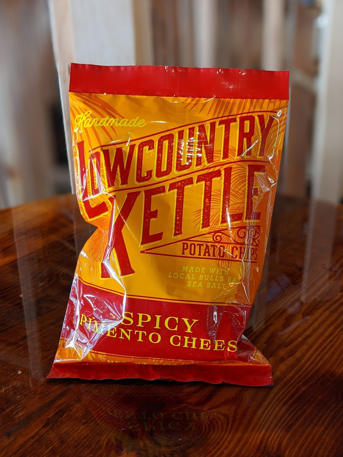 Lowcountry Kettle Chips Spicy Pimento Chips