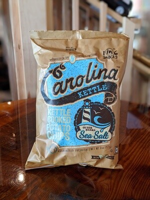 Carolina Kettle Chips Sea Salt
