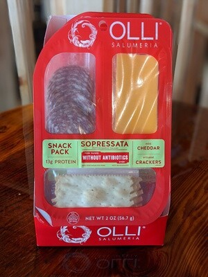 Olli Snack Pack Sopressata-Cheddar