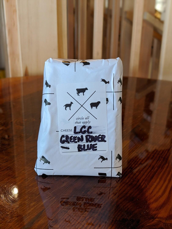 Looking Glass Creamery Green River Blue (6oz Wedge)