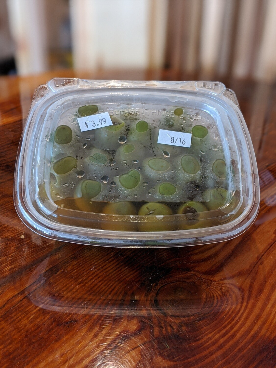 Castelvetrano Olives (6oz house-packed)