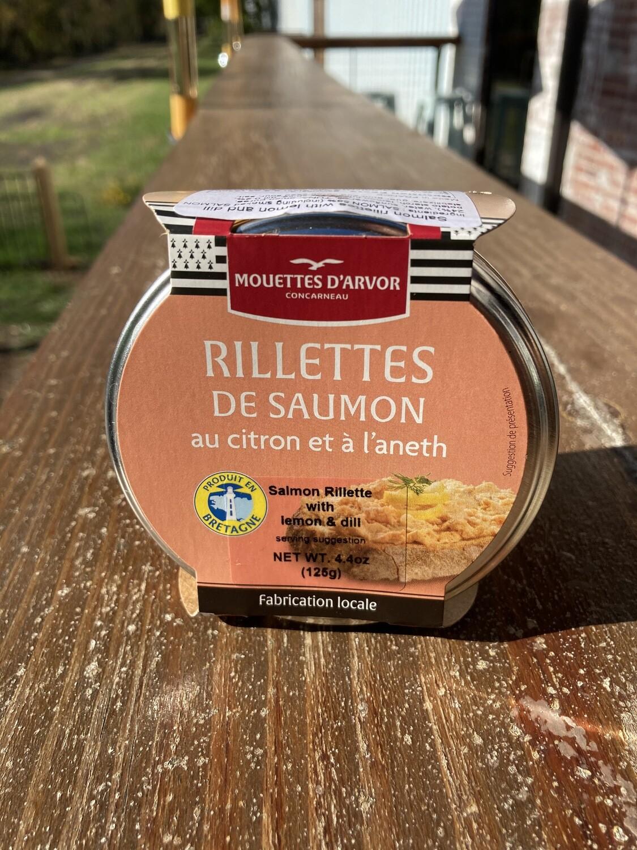 Les Mouettes D'arvor Rillettes De Saumon