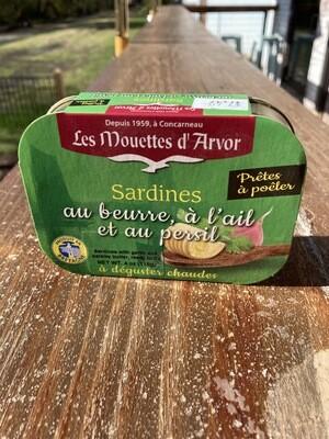Les Mouettes D'Arvor Sardines Au Berre Et Aul Sel