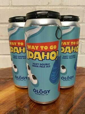 Ology Way To Go, Idaho IPA (4pk)