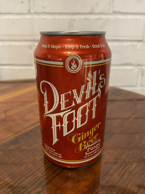 Devil's Foot Fuego Ginger Beer (12oz)