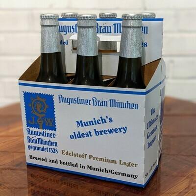Augustiner Braun Munchen 6 Pack