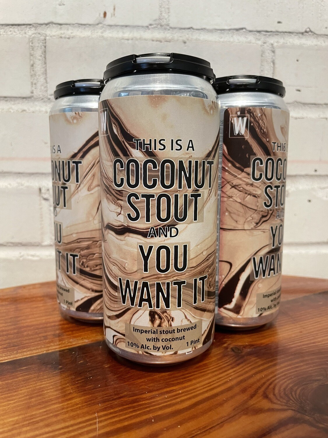 Westbrook This Is A Coconut Stout And You Want It (4pk)