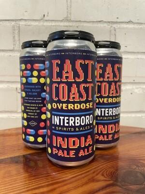 Interboro East Coast Overdose IPA 4pk