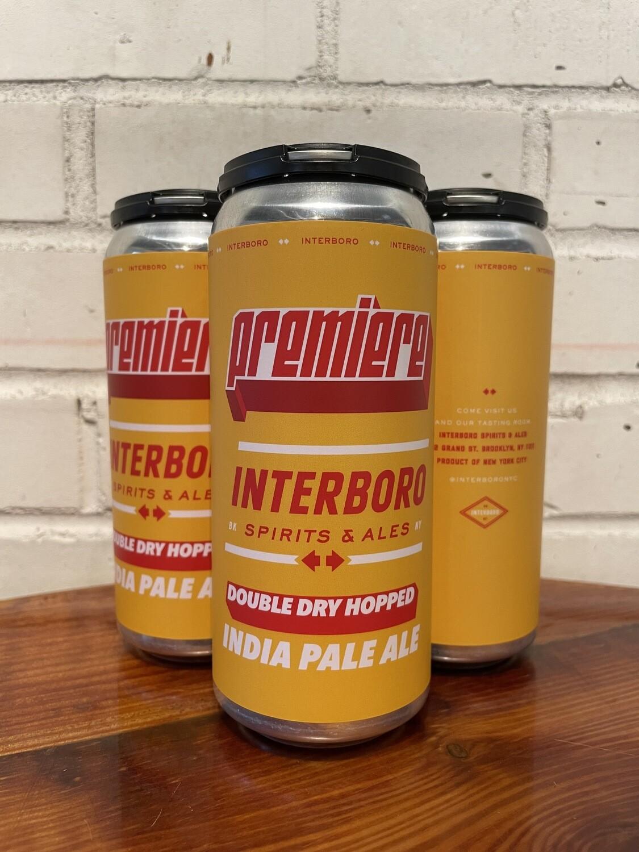 Interboro Premiere IPA 4pk