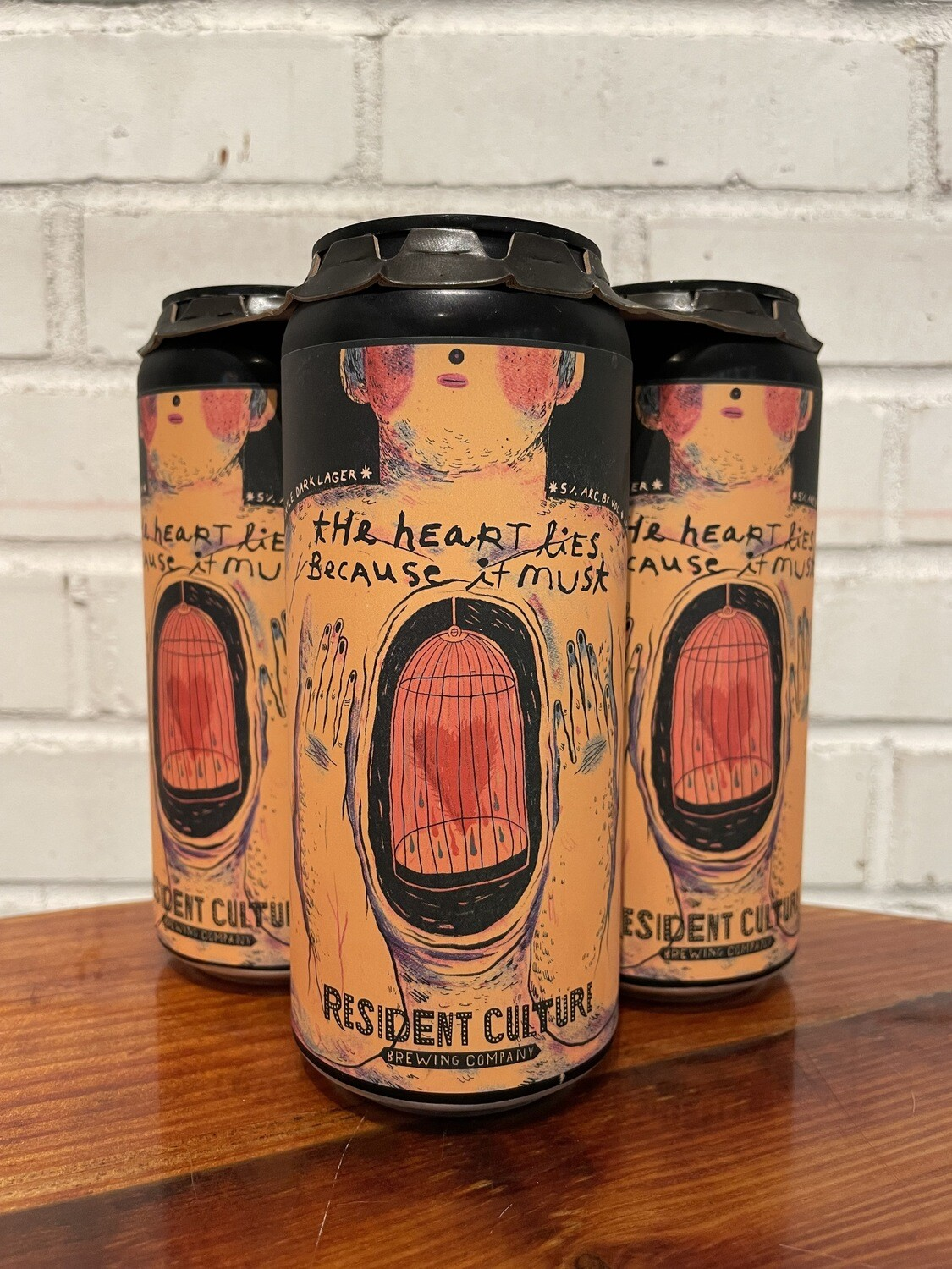 Resident Culture The Heart Lies Because It Must 4pk