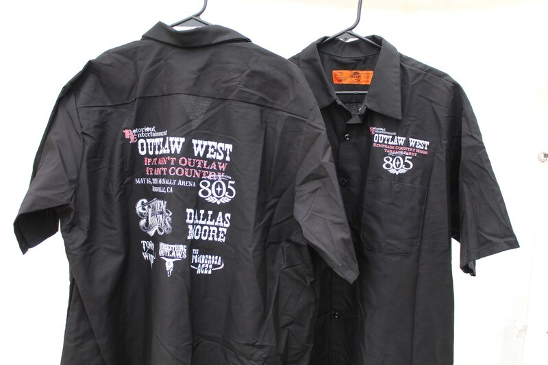 Outlaw West 2020, Mens Work Shirt