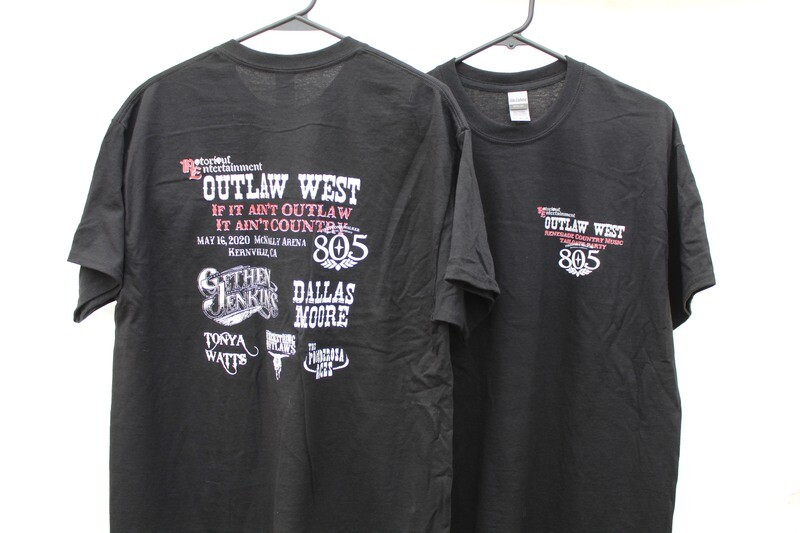 Outlaw West 2020, T-Shirt