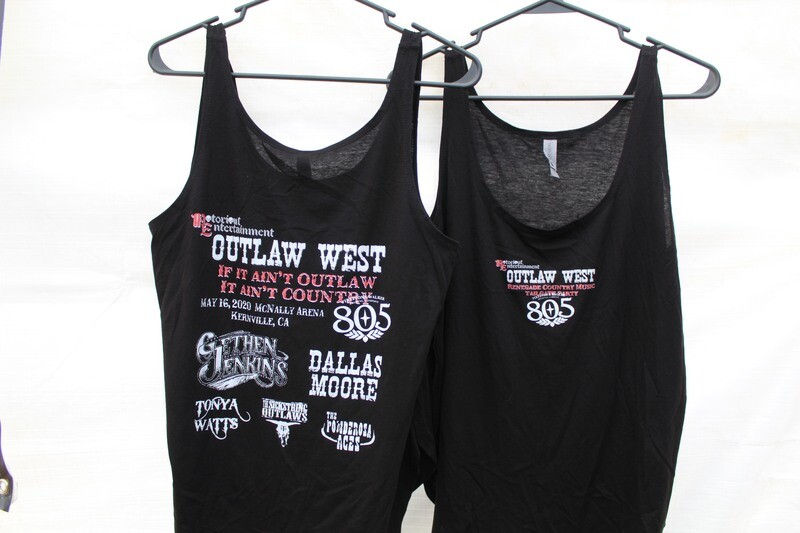 Outlaw West 2020, Ladies Tank