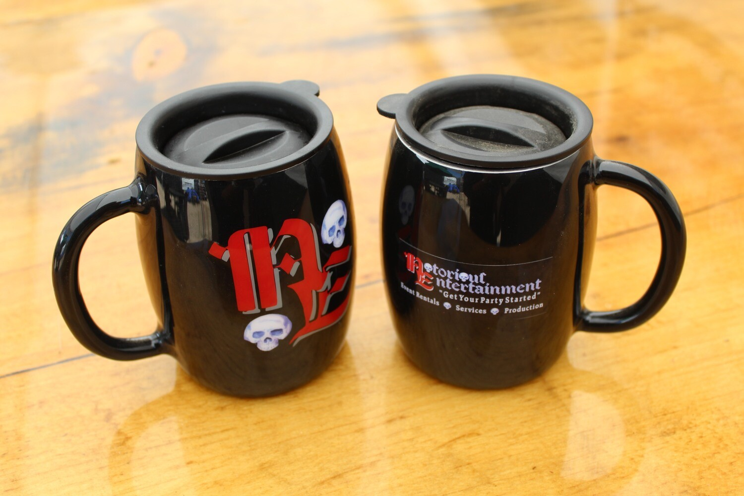 Notorious Entertainment Logo Coffee Mug