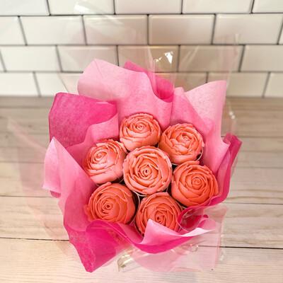 Valentine Cupcake Bouquet - PREORDER