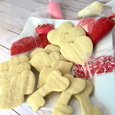 Valentine Cookie Kit - PREORDER