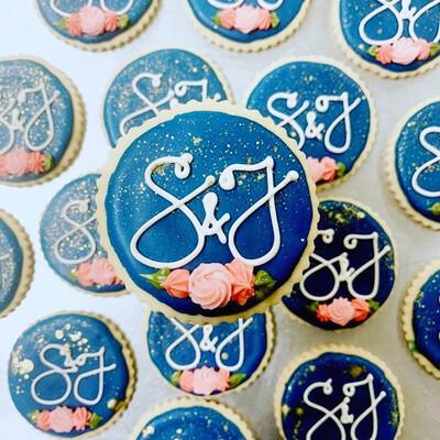 Custom Decorated Sugar Cookies Deposit And Consultation (One Dozen)