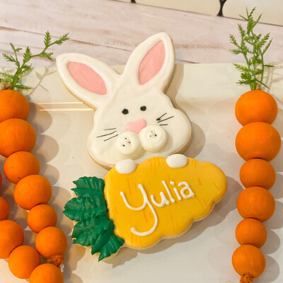 Carrot Nameplate in Gift Box - PREORDER