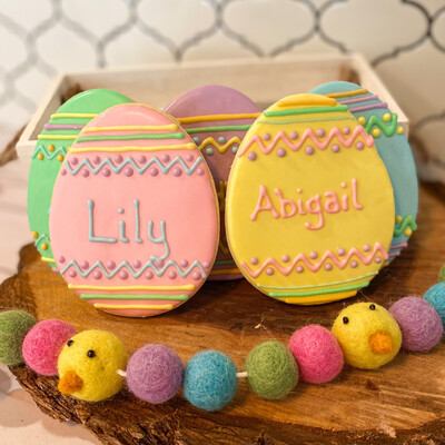 Personalized Easter Egg in Gift Bag - PREORDER