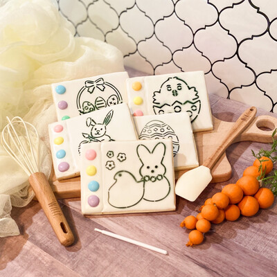 Paint Your Own Easter Cookies - PREORDER