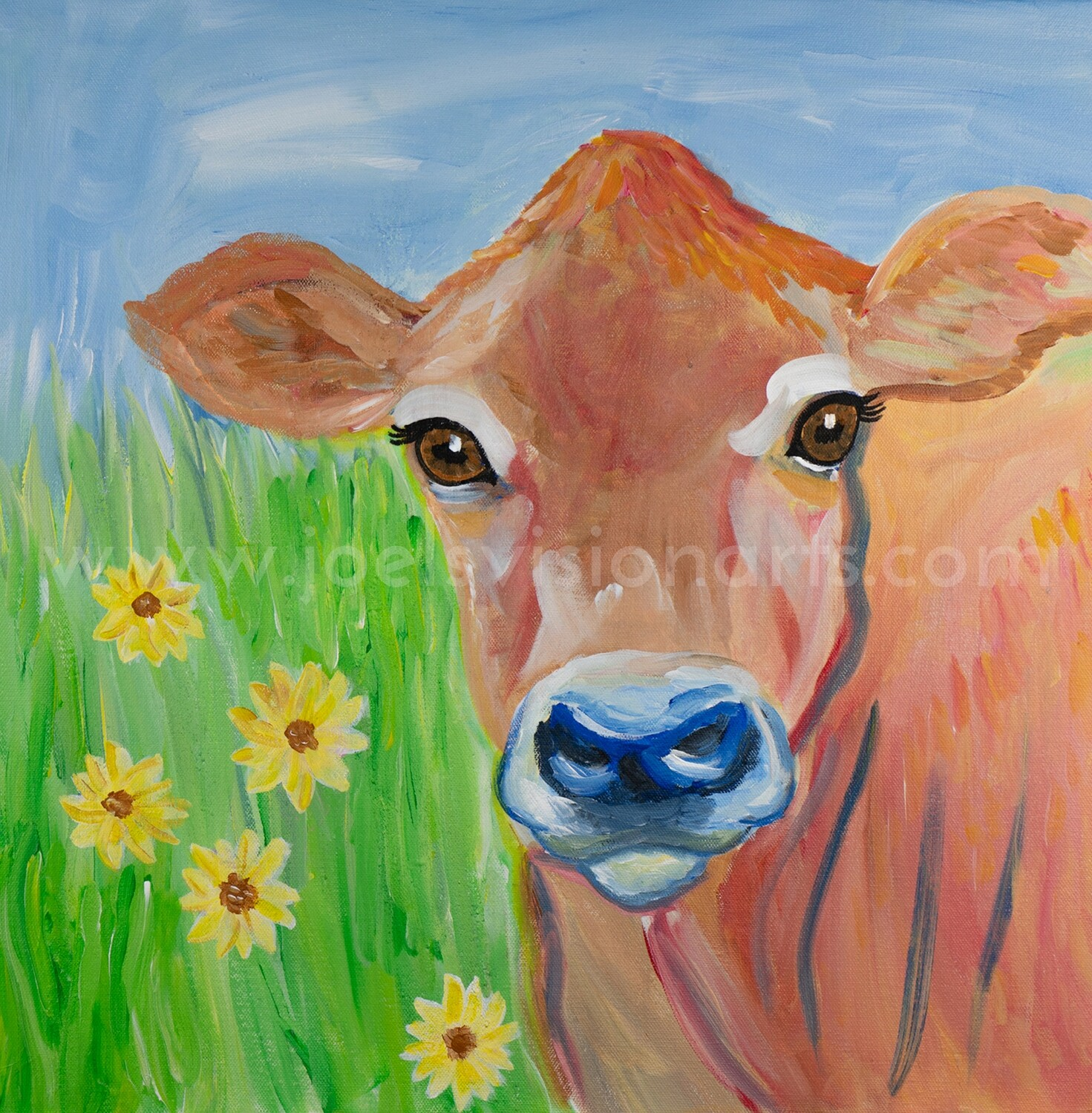 The Jersey Cow