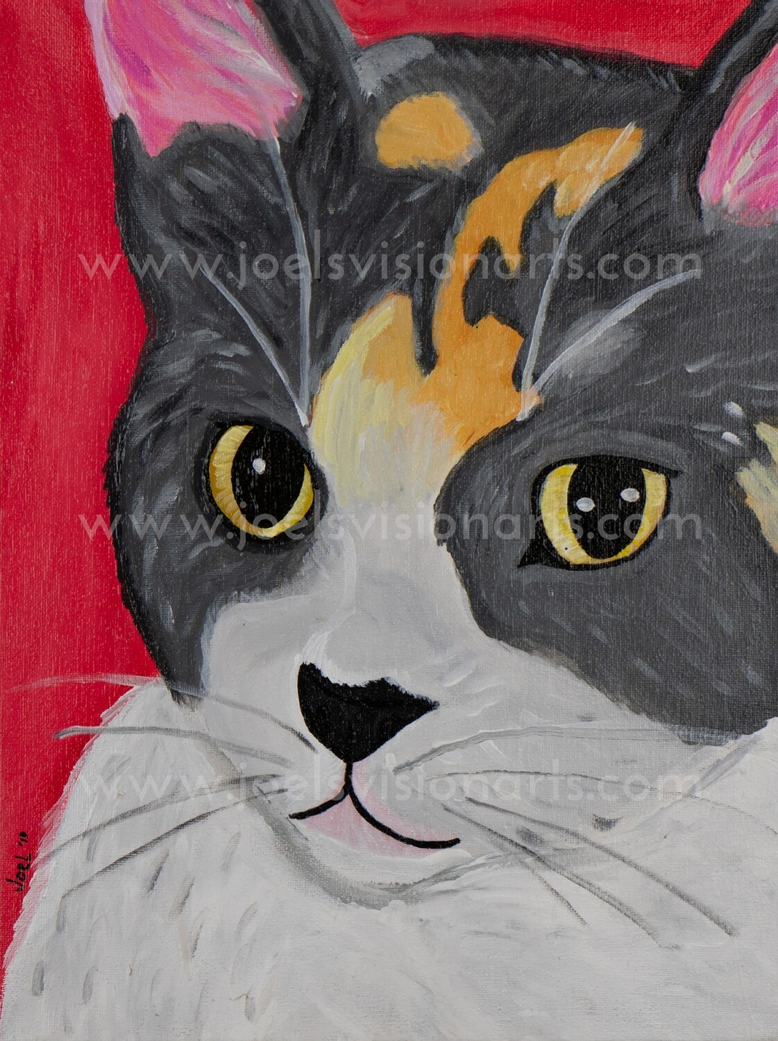 Kitty Cat in Red