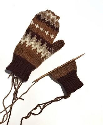 Bernie's Mitten Kit - Berocco Ultra Wool