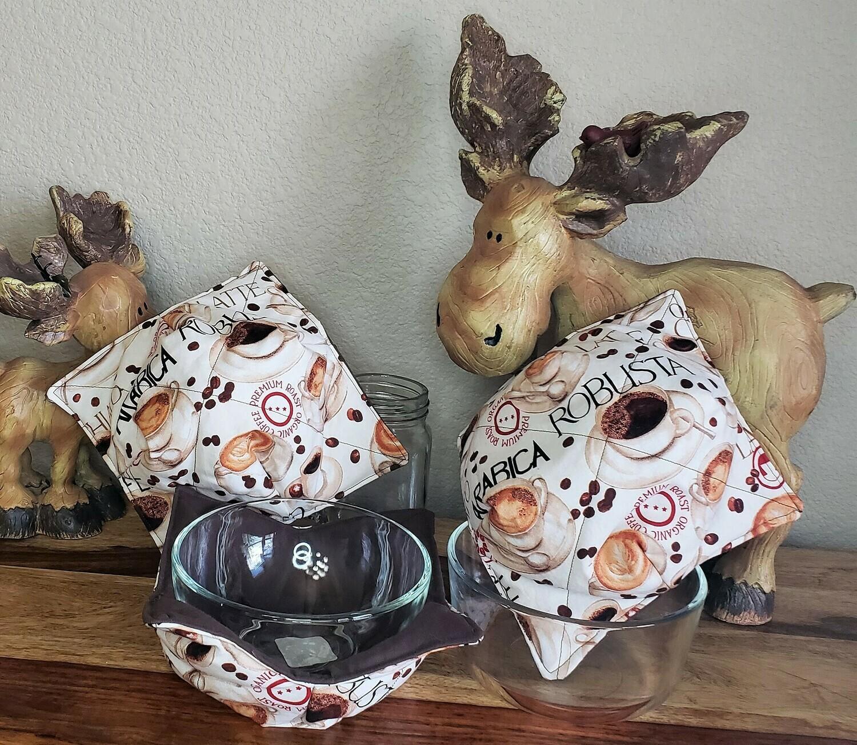 Coffee Bowl Cozy - Set of 3