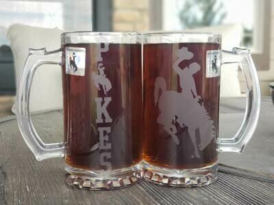 Steamboat Mug w/Pokes 26.5 Oz