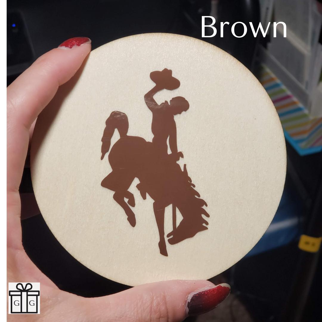 Wooden Coasters - Round