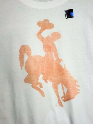 University of Wyoming Customized LOGO T-Shirts - Women's