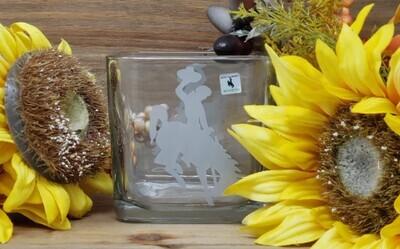 Bucking Horse Candle Holder