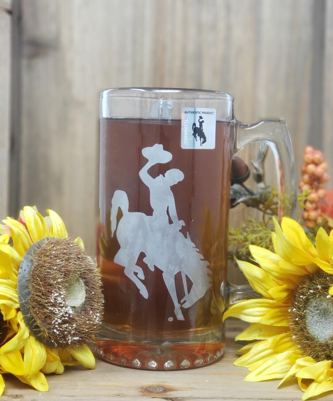Bucking Horse Beer Mug - Unique 26.5 Oz
