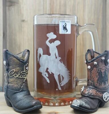 Wyoming Cowboys Mug 26.5 Oz