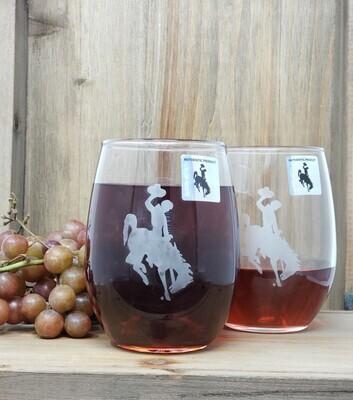 Wine Glass -  Stemless
