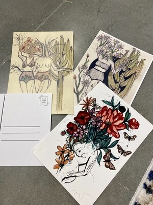 Flora Sisters Postcards