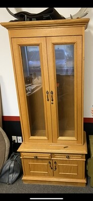 Solid Wood Gun Cabinet