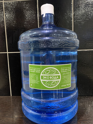 ЭКО ВОДА 19 литров (1 шт.)