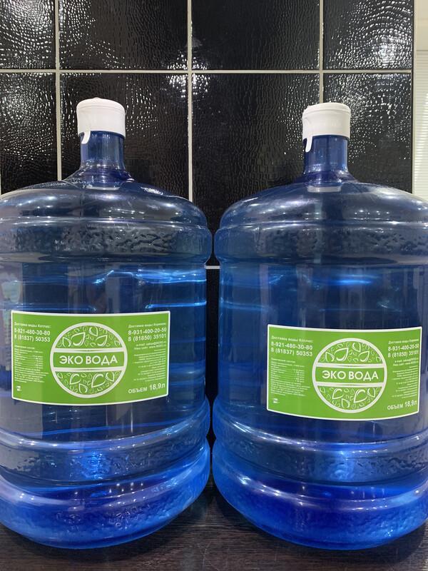 ЭКО ВОДА 19 литров (2 шт.)