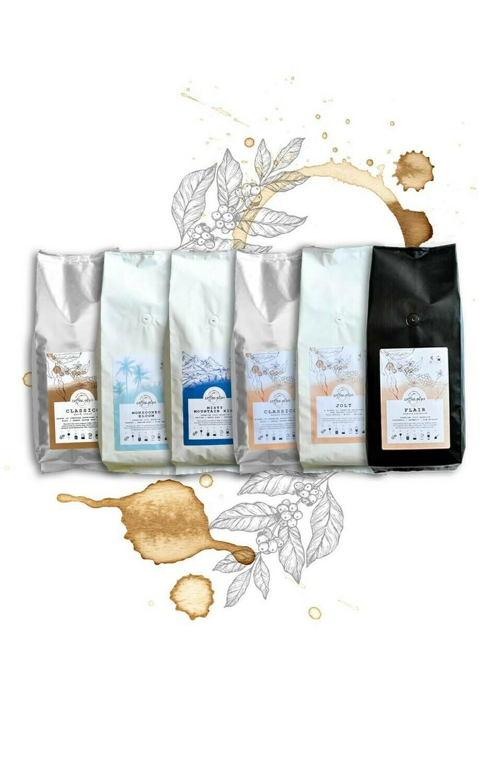 Coffee Sampler any three Coffees 250 g * 3