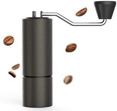 Hand Grinder Black with Stainless Steel Burrs